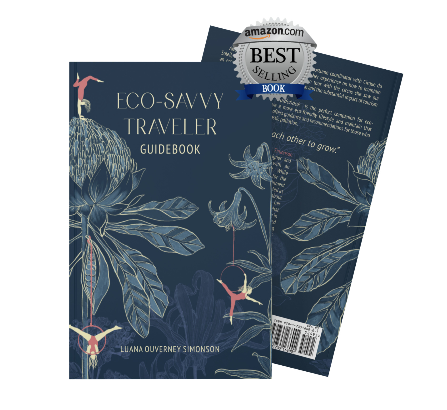 The Eco-Savvy Traveler Guidebook Cover