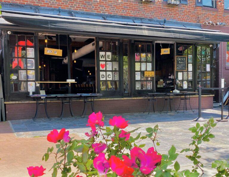 Shaw's Tavern Open Window