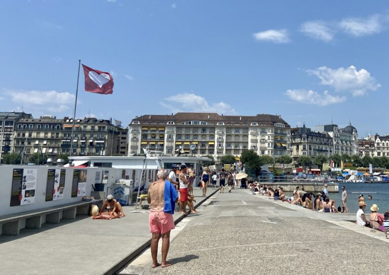 Bains de Paquis Social and Cultural Haven in Geneva