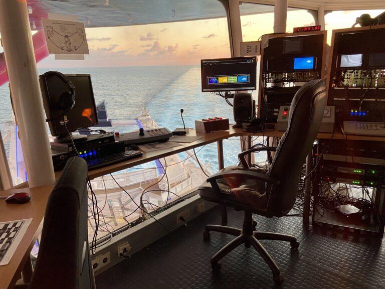 Stage Management Largest Cruise Ship