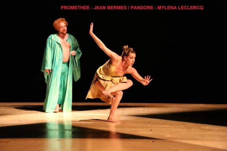 Mylena Leclercq dancing