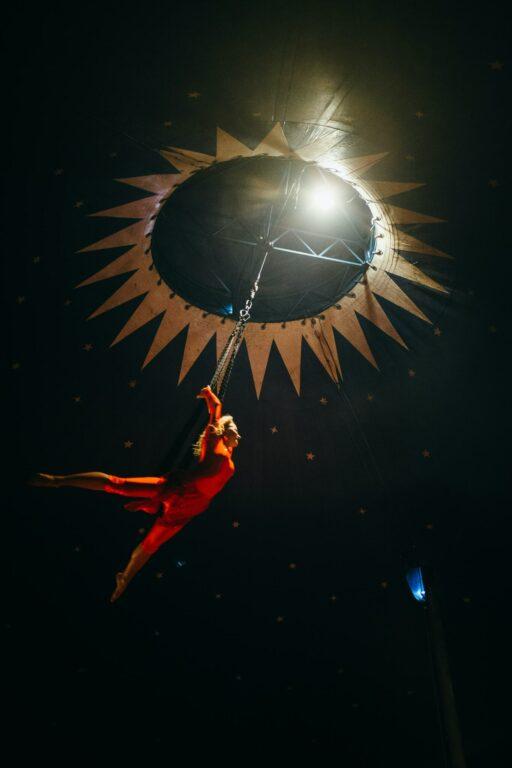 Aerialist Greatest Showman Barnum Circus