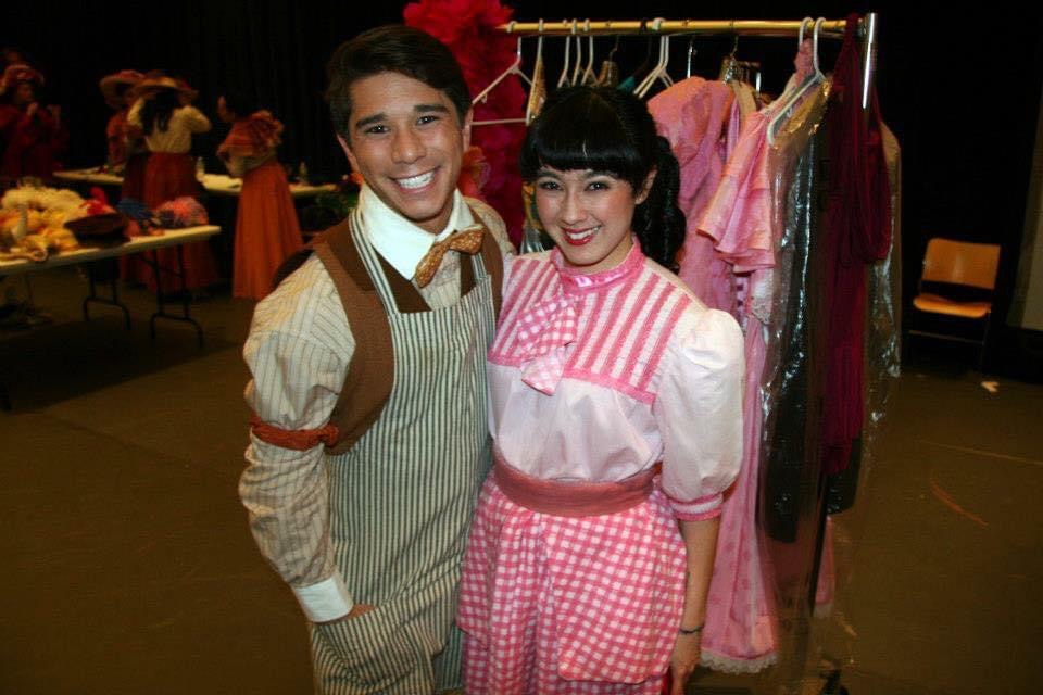Hello Dolly! as Barnaby with friend Alex Chester-Blank