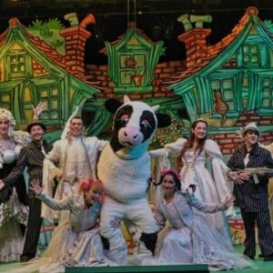 Panto Is Back Online As The UK And London's West End Close Again