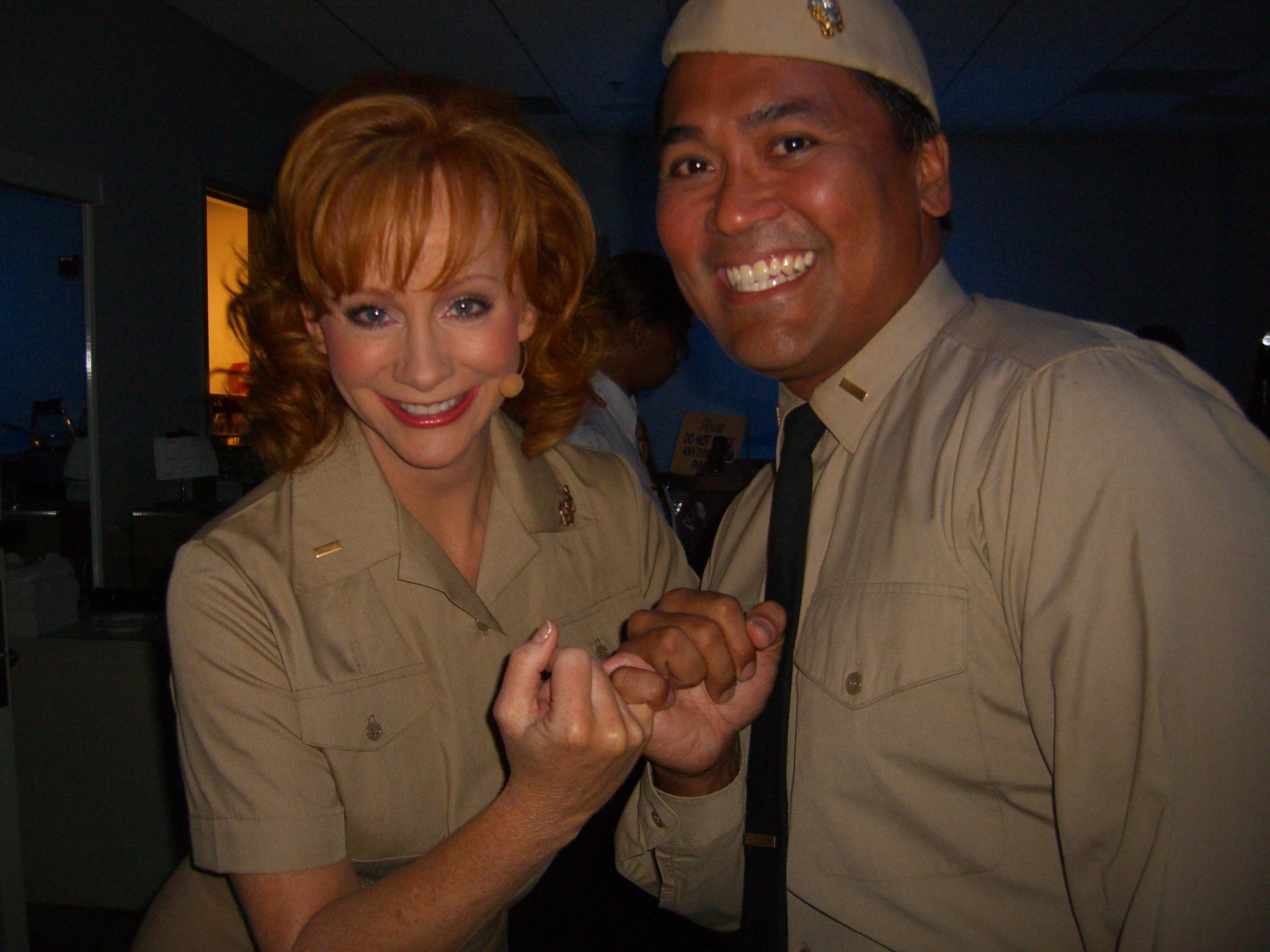 Ricky and Reba McEntire