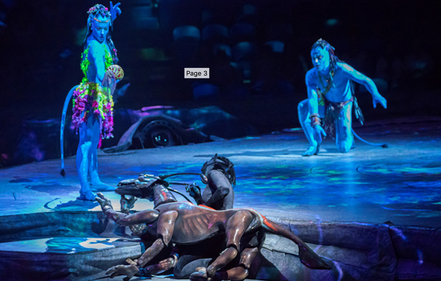 history of cirque du soleil