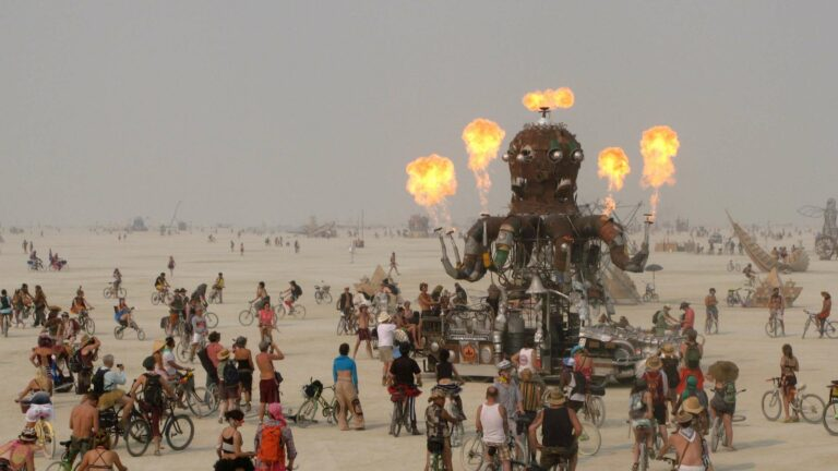 Burning Man creative installation