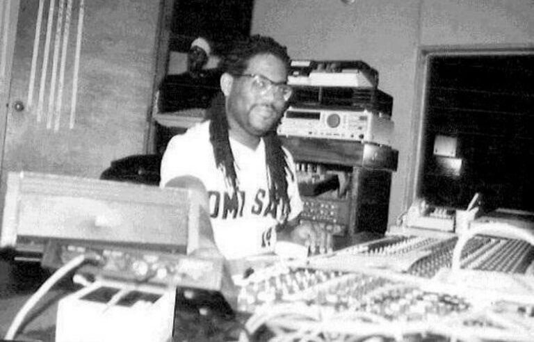 david in his studio
